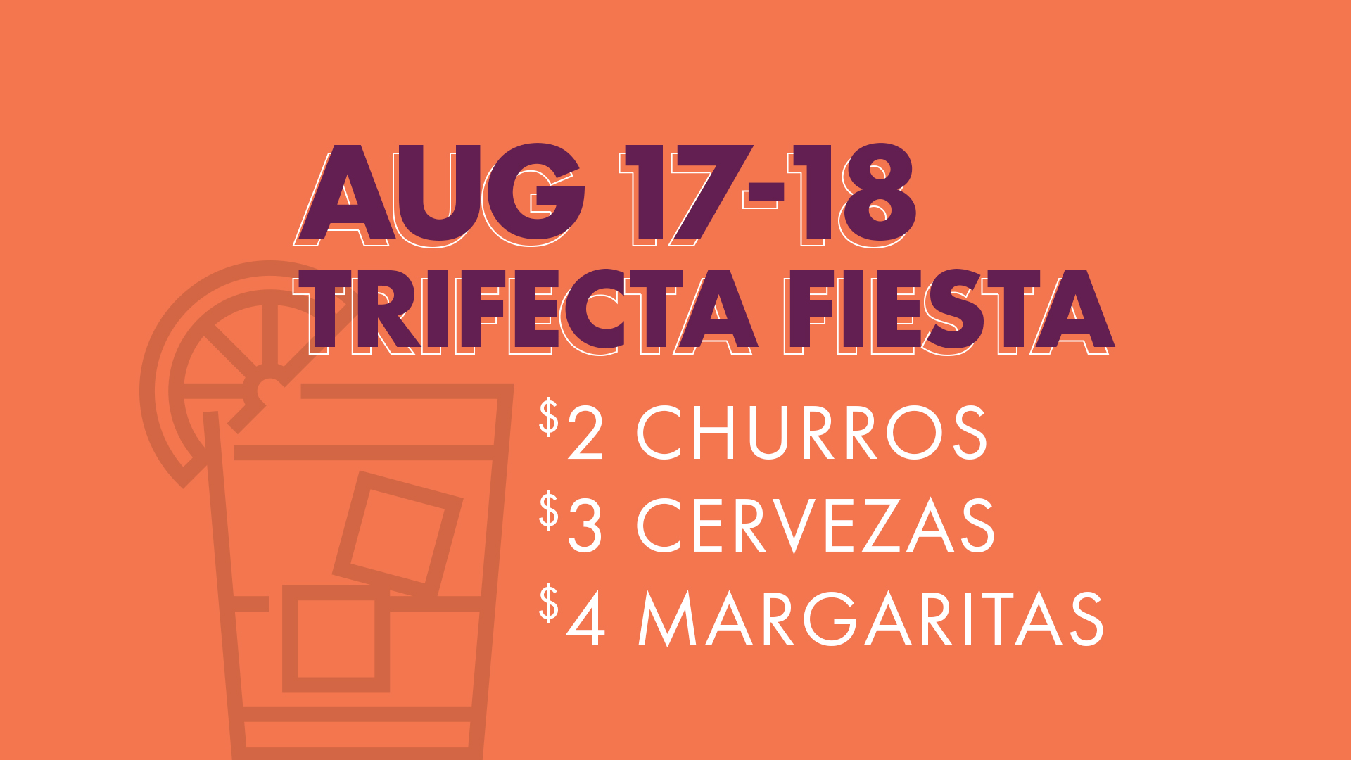 Trifect Fiesta advertisement