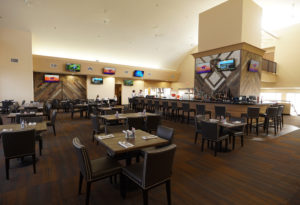 The clubhouse bar at Arizona Downs