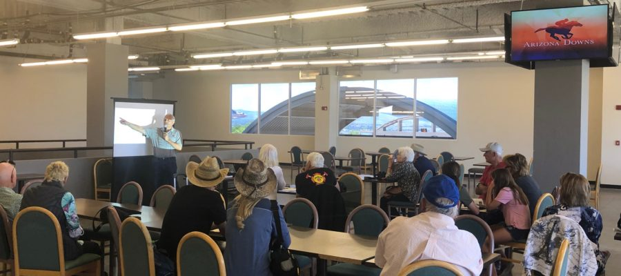 Pickin' the Ponies Seminar | New Fans | Arizona Downs Racetrack
